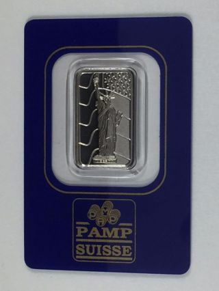 Pamp Suisse.  9995 Fine Palladium 5 Gram Certified Bullion Bar - Pm21 - Y photo