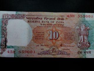 RAJIV MAHIRISHI 2015 - UNC india 100 Notes Serial Packet Bundle