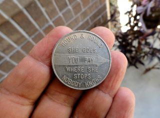 Rare Token Coast Cities U - Drive - It Gulfport Biloxi Pascagoula Ms Pensacola Fla photo