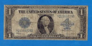 $1 1923 Silver Certificate - Horseblanket - Large Size Note photo