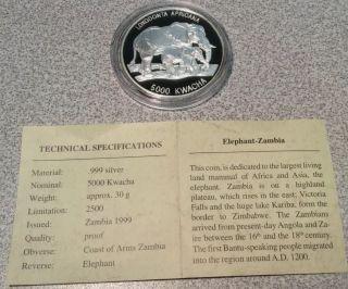 1999 Zambia 5000 Kwacha