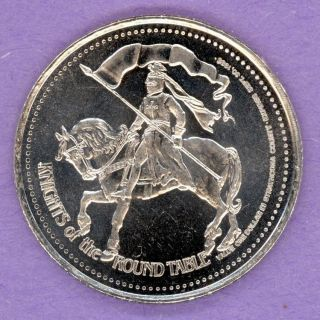 1985 Strathcona County Alberta Trade Token Robin Hood Knights Of Round Table photo