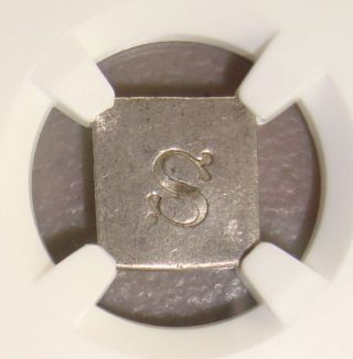 (undated) Washington,  Pennsylvania B - 6131 Communion Token Ngc Au50 photo