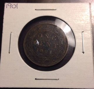 1901 Canadian Large Cent, photo