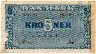 Denmark 5 Kroner 1950 Riim (p - 35g) photo