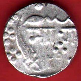 Baroda State - Malhar Rao - 1290 - One Rupee - Rare Silver Coin Z - 13 photo