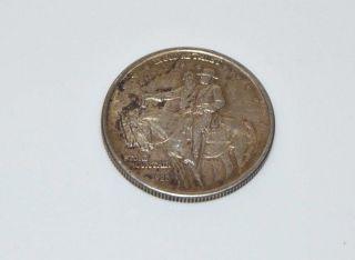 1925 Silver Stone Mountain Commemorative Half Dollar C159 photo