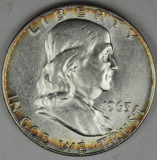 1963 Franklin Silver Half Dollar photo