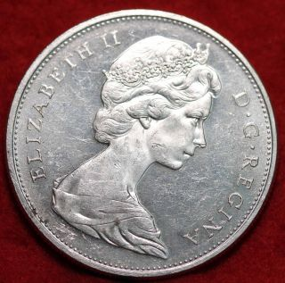 Uncirculated 1965 Canada Silver Dollar Foreign Coin S/h photo