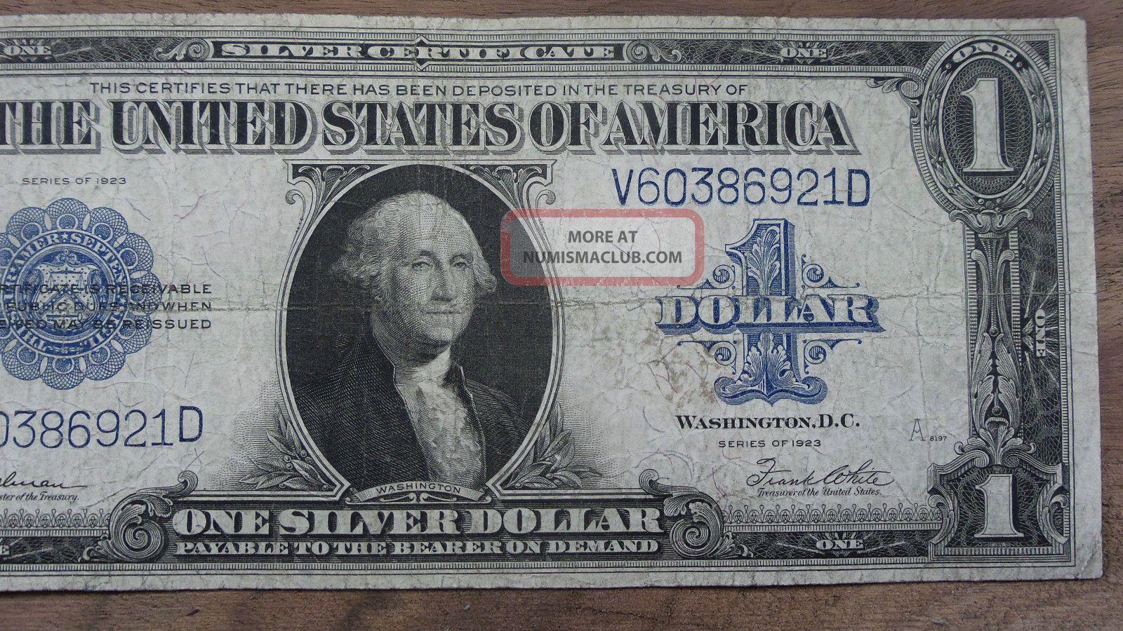 Value Of 1923 Series Dollar Bill Watch Lost Episode 7 Season 6