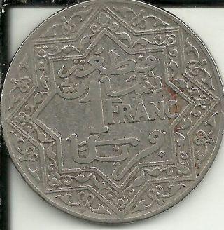 Morocco Franc,  1921 Y 36 photo