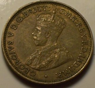 British West Africa,  1934 George V Three Pence,  3 Pence. photo