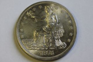 1876 P Trade Dollar photo