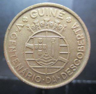 Portuguese Guinea Escudo 1946 Km 7 R666 photo