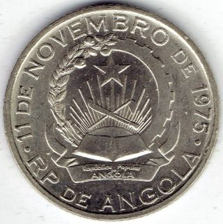 Angola 1 Kwanza 1979 Km83 - Au photo