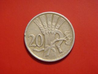 Czechoslovakia 20 Haleru,  1921 photo