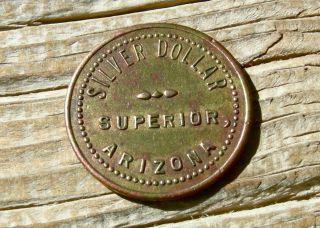 1910 Superior Arizona Az (pinal Co) Rare R - 8