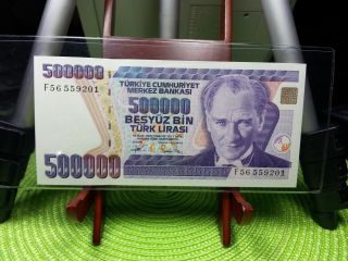 500 000 Lira Banknote Uncirculated Turkey photo
