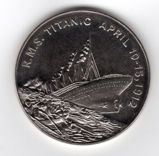 1912 Sinking Of The R.  M.  S.  Titanic 2002 $5 Republic Of Somaliland Weighs 1 Ounce photo