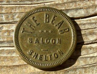 1900 Shelton Washington Wa (mason Co) Rare