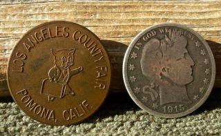Old Pomona California Ca Pig Pictorial Rare R - 10