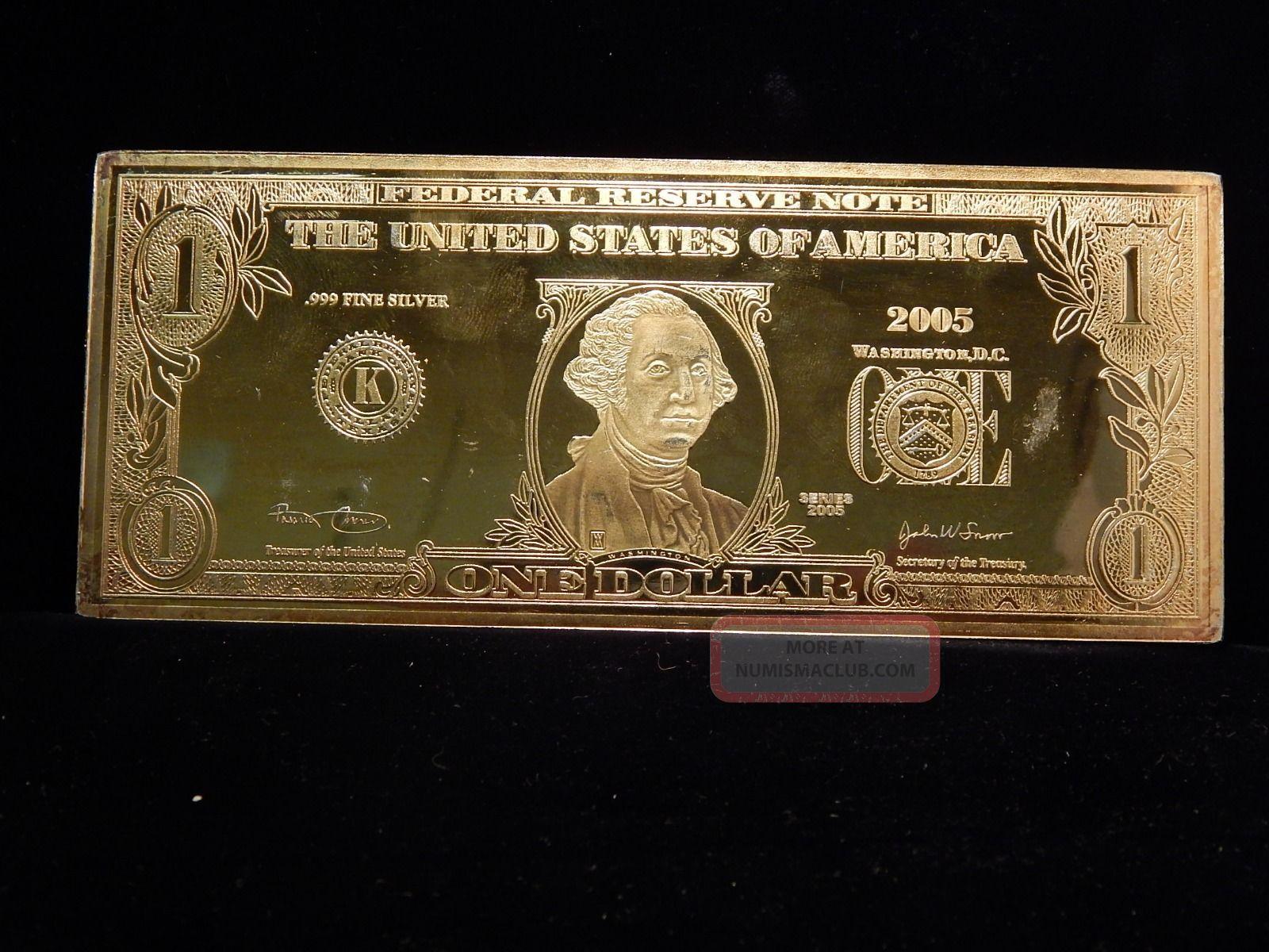 1 Oz Fine Silver One Dollar 1987