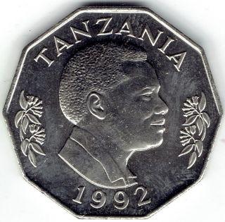 Tanzania 5 Shilingi 1992 Km23a.  2 - Bu photo