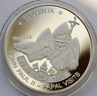 5 Kwacha Malawi 2010 John Paul Ii - Papal Visits Slovenia 1999 photo