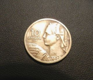 Yugoslavia 10 Dinara,  1955 - Great Coin - See Pictures photo