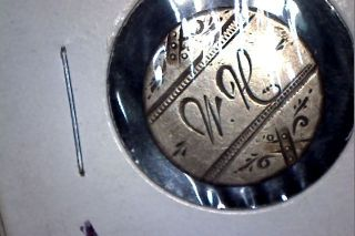 Rare Carson City Cc Seated Liberty Dime Love Token Script Initials