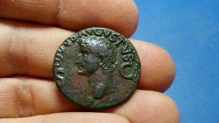 Divus Augustus Ae Dupondius,  Struck Under Caligula photo