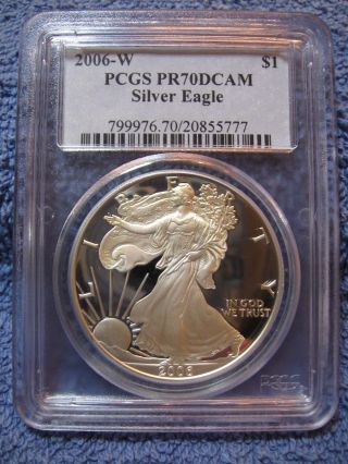 2016 W Reverse Proof American Silver Eagle