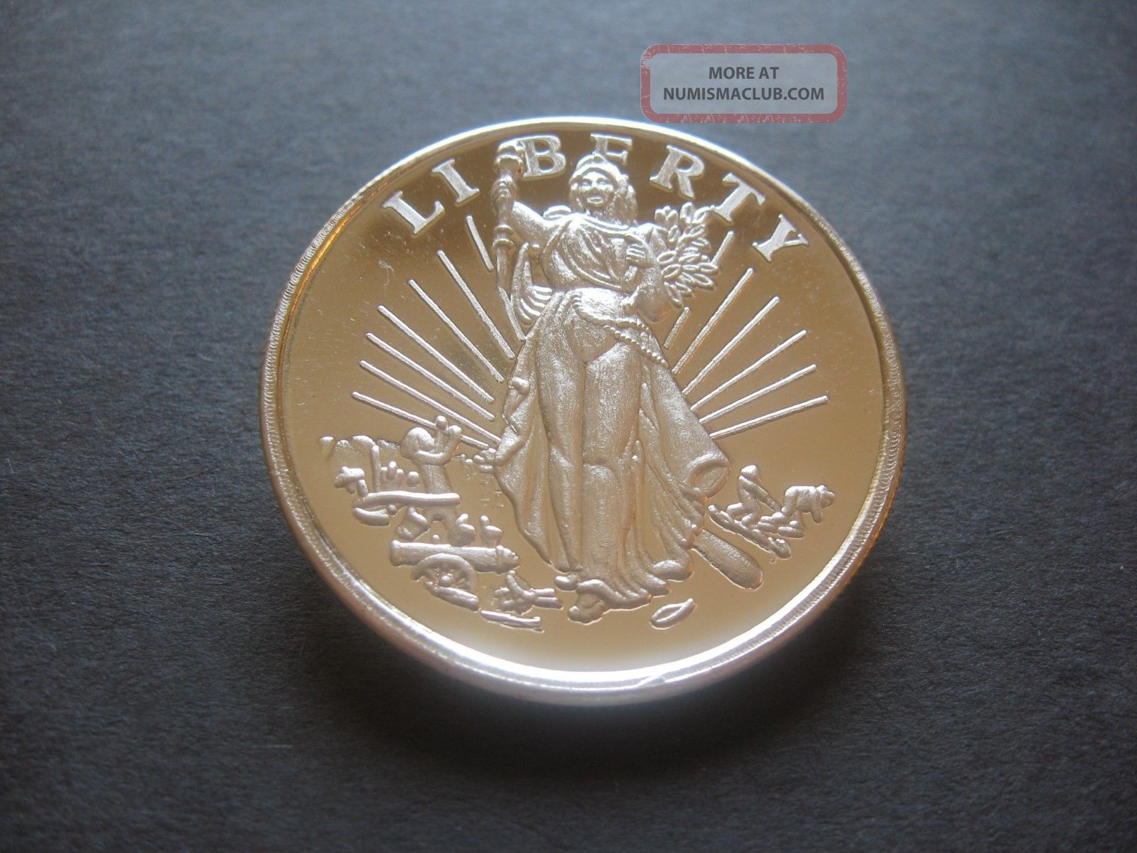 1 Troy Ounce Liberty 0 999 Fine Silver Round