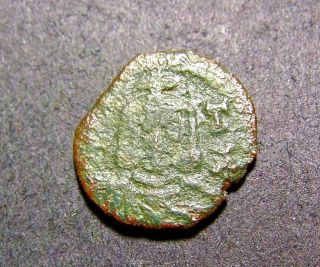 Nicephorus I & Son,  Byzantine Emperor Coin From Syracuse,  Ca 800 A.  D. photo