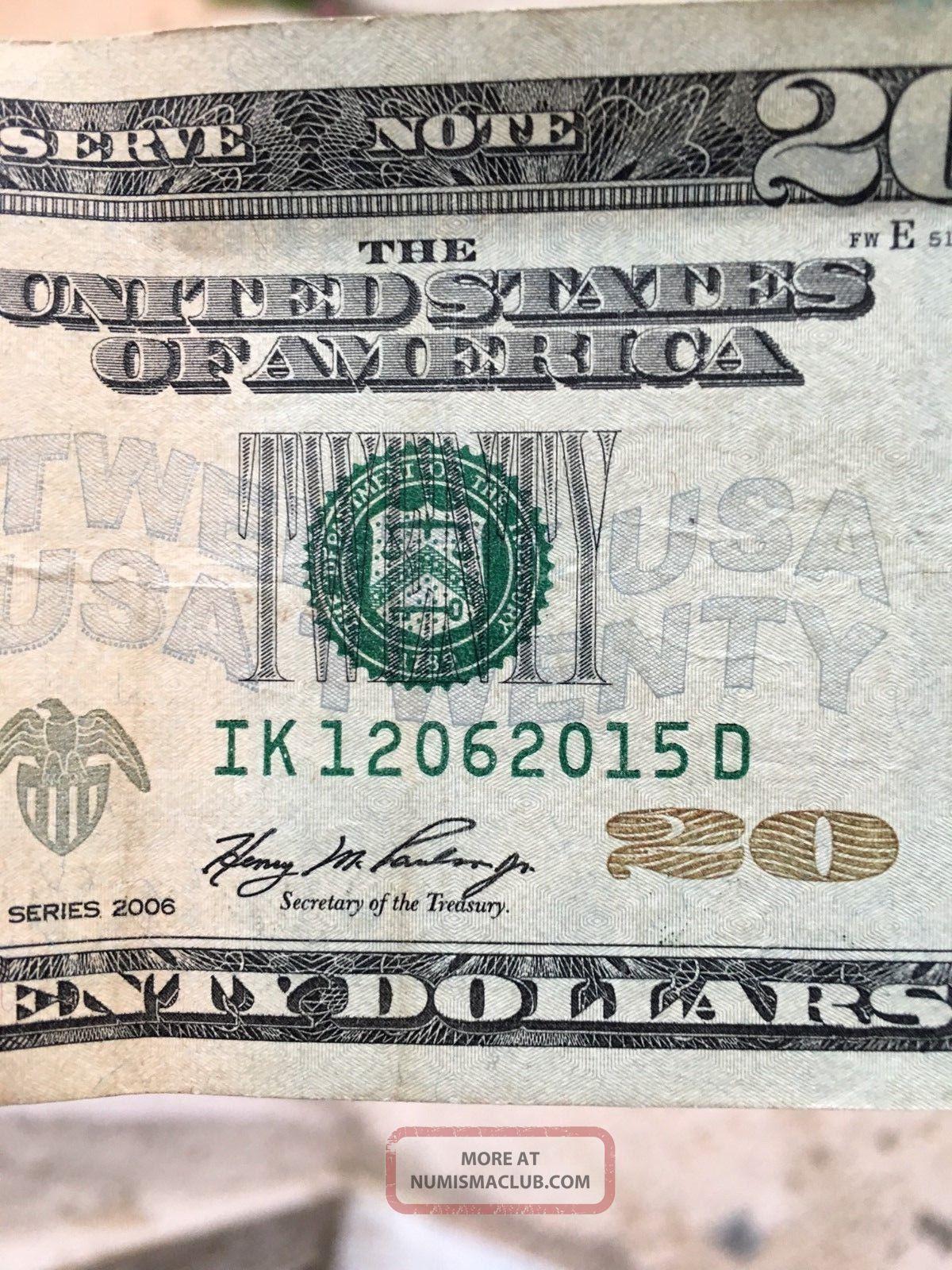 series date on dollar bill