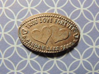 Elongated Penny - Ecnp00057z - Candbie Lake Park - True Love Forever photo