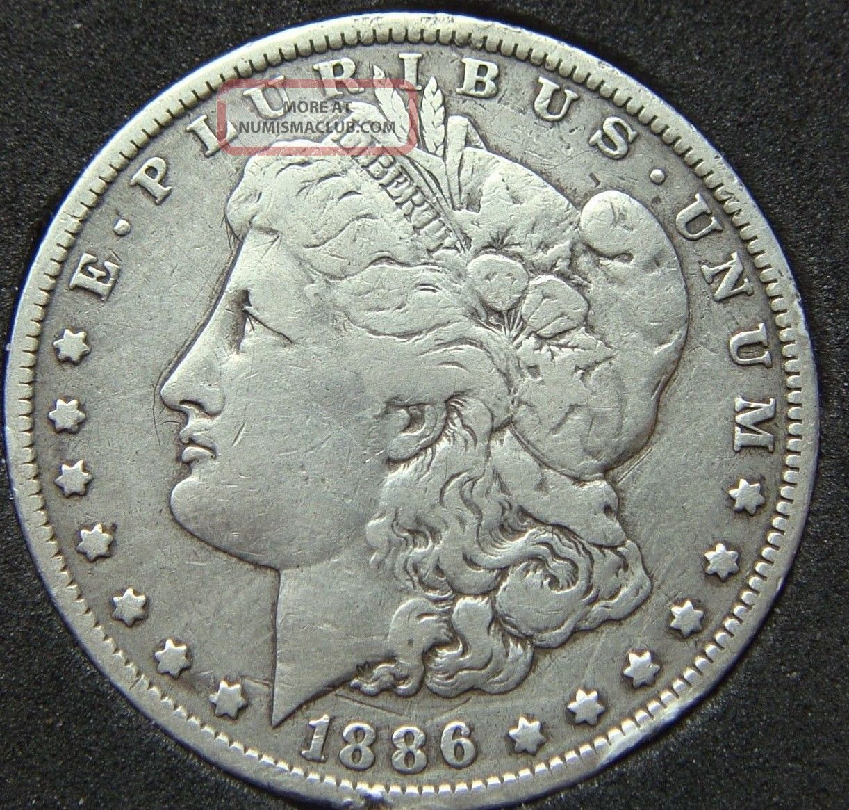 1886 O Morgan Silver Dollar Hz5 Distinct Ddo Quot Liberty