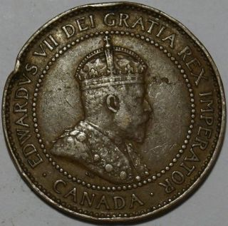 Canada - One Cent 1908 photo