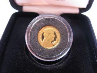 Gold Latvia 5 - Lats Collector Coin Gold Pieclatnieks 2003 Rare photo