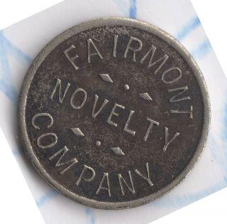 Vtg Antique Coin Fairmont Mn Trade Token Fairmont Novelty Company photo