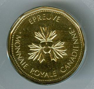 2004 Canada 1 Dollar Loon Test Token Top Grade State. photo