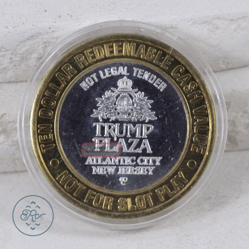 999 Fine Sterling Silver Nj Trump Plaza Casino Bullion