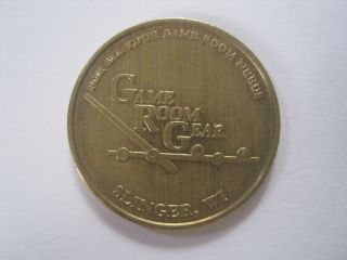 Game Room Gear Country Springs Hotel Slinger Wisconsin Token Coin 1107 - 2 photo