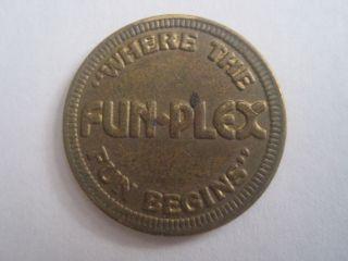 Fun - Plex Littleton Colorado Token Coin 1107 - 2 photo