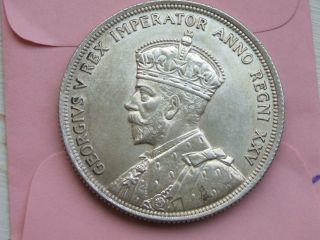 Canada Silver Dollar 1935 Au/unc Some Frosty Luster. photo