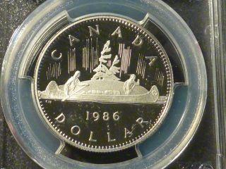 1986 Nickel Dollar Pcgs Pr - 69,  Deep Cameo,  None Graded Higher photo
