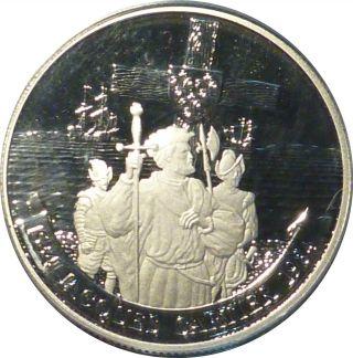 1984 Cartier Nickel Dollar Pcgs Pr - 69,  Deep Cameo,  None Graded Higher photo