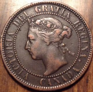 1901 Canada Large Cent Stunning Beauty Great Penny Loook photo