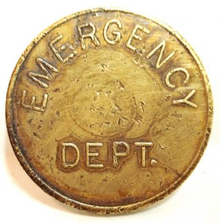 Vintage N.  C.  Baptist Hospital Emergency Dept Parking Token North Carolina Nc photo
