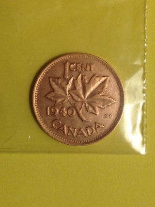 1 Cent 1940 Canada photo